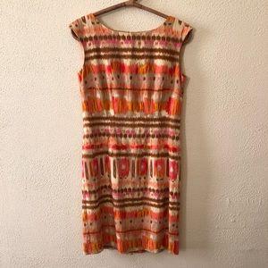 Tahari Linen Wiggle Dress 4